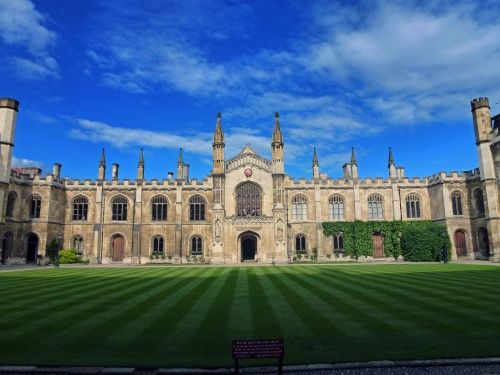 """Corpus Christi College, Cambridge"" by Marita Mersch at PicturesofEngland.com"