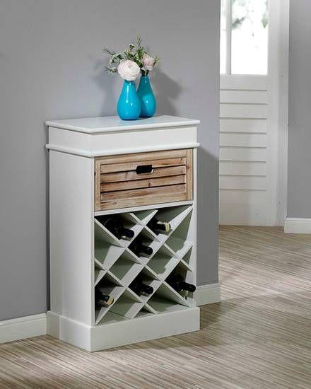 kommode paulina 1 schublade und weinregal dream home pinterest kommode weinregale und. Black Bedroom Furniture Sets. Home Design Ideas