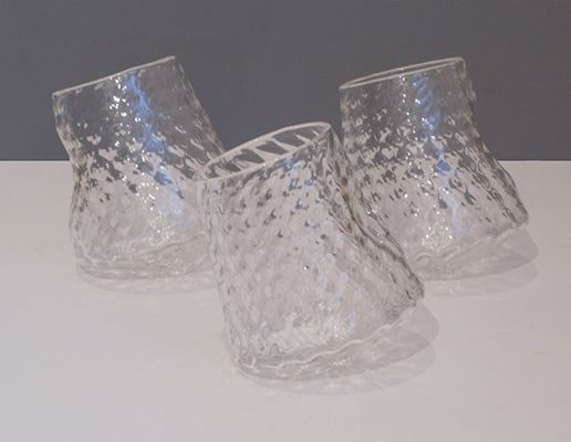 Arthur Guilford - Tumble Cups, blown glass