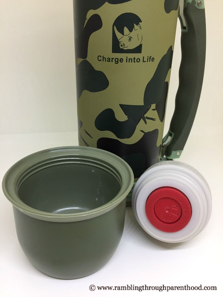 The Rhino 800ml 'Camouflask' is a new vacuum flask designed to carry both hot and cold drinks. We put it through its paces. Read on to find out what we made of it.