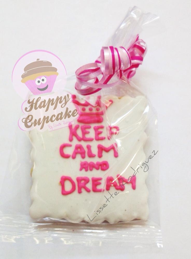 Keep Calm cookies !!