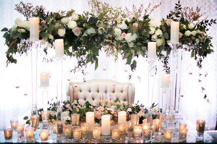 Elegant Wedding Inspiration by Cocomar Ladies   Photo: Civic Photos