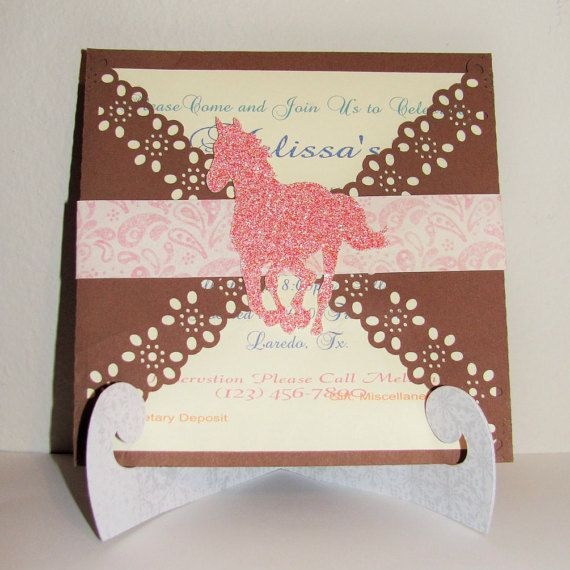Cowgirl Invitation  Western by PhotoNPaperCreations on Etsy