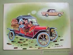 Image result for dibujos coches antiguos
