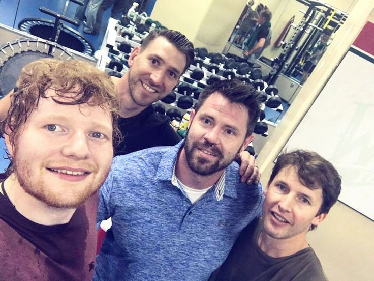#tbt to Ed Sheeran & James Blunt giving it their all during a personal training session led by our own Dr. Gary & Dr. Kurt!  . . . #chiropractor #personaltraining #wellsfargoarena #edsheeran #jamesblunt #personaltrainingsession #iowa #desmoines #kickingbutt #workoutbuddy #fitspo #chiropractorsrock