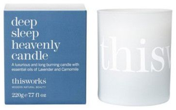 This Works Deep Sleep Heavenly Candle contemporary candles and candle holders