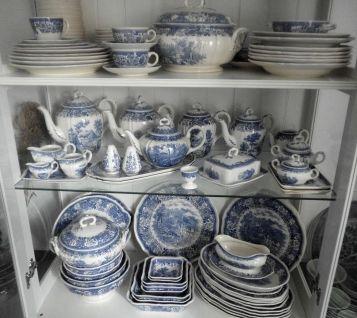 Porzellan -Villeroy und Boch - Burgenland blau - Essgeschirr
