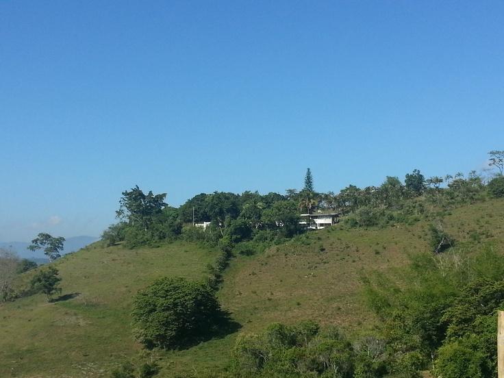 En lo alto de Tobia, Cundinamarca.