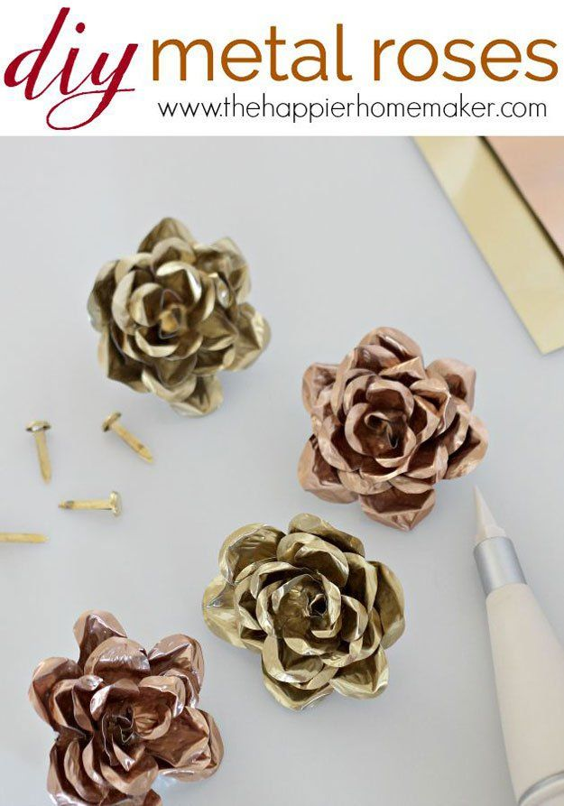 DIY Metal Roses | 18 More Easy Crafts to Make and Sell