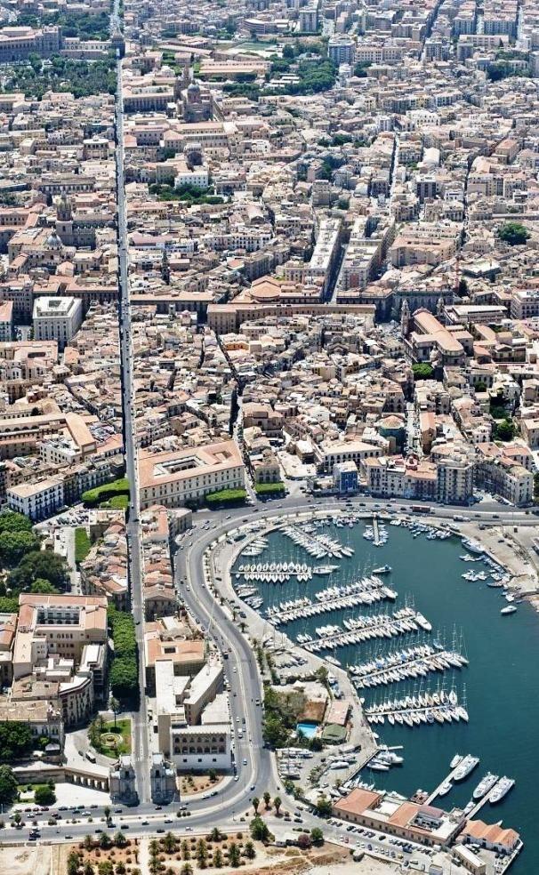 Palermo la Cala - veduta aerea