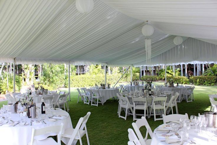 Oasis Garden Wedding Reception - Mercure Townsville - Tropical Gardens - Marquee