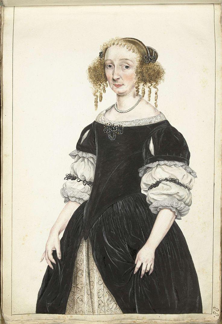 Gesina ter Borch | Portret van Petronella de Waert, Gesina ter Borch, Gerard ter Borch (II), c. 1670 | Portret van Petronella de Waert, moeder van Aletta Pancras.