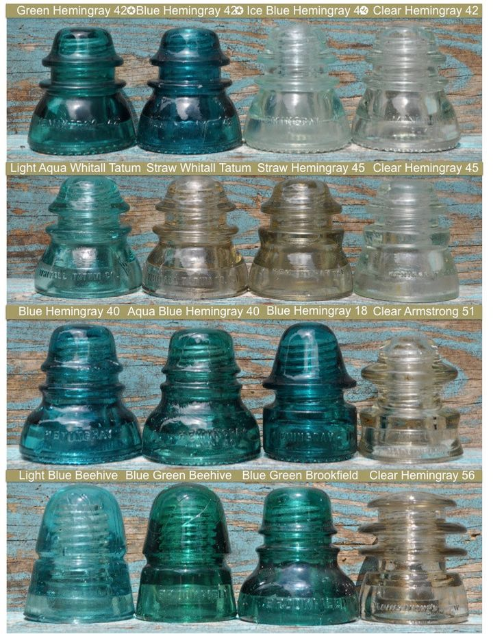 1000 images about hemingray insulators on pinterest for Collectible glass insulators
