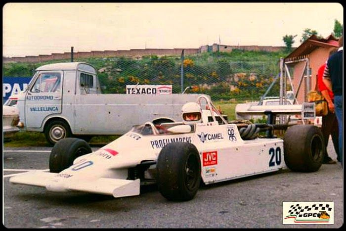 Gianfranco Brancatelli, March 812 BMW / Heini Mader Racing Components (HMR), Team Merzario, Vallelunga, 1981.