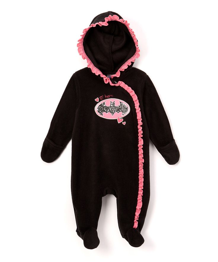 Take a look at this Black & Pink Batgirl Bunting - Infant today!