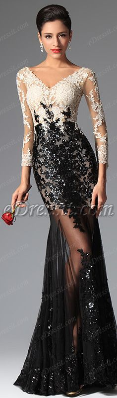 The hottest evening gown this season! #edressit #dress #fashion #women #evening_gown