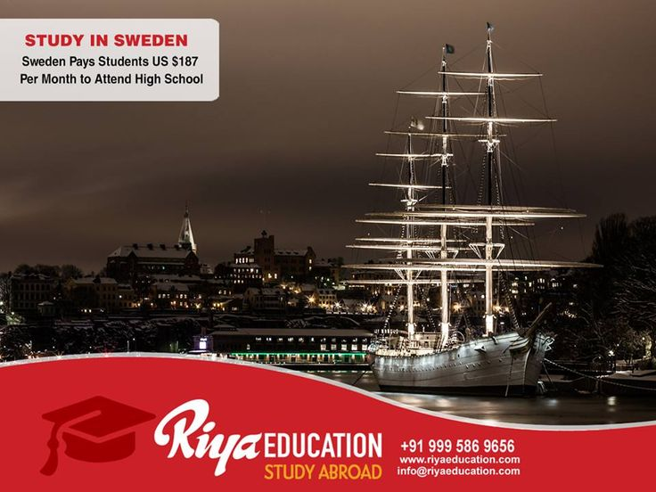 Originators, Innovators and Creators.  Food Lovers, Green Thinkers, Sun Lovers and Memory Makers. Big Ambitions, Culture Clashes and The Nobel Prize. A lot of words describe student life in Sweden. Click Here to Apply: www.riyaeducation.com  or call +91 9995869656 #StudyinSweden #StudyAbroad #HigherEducation #RiyaEducation #Sweden