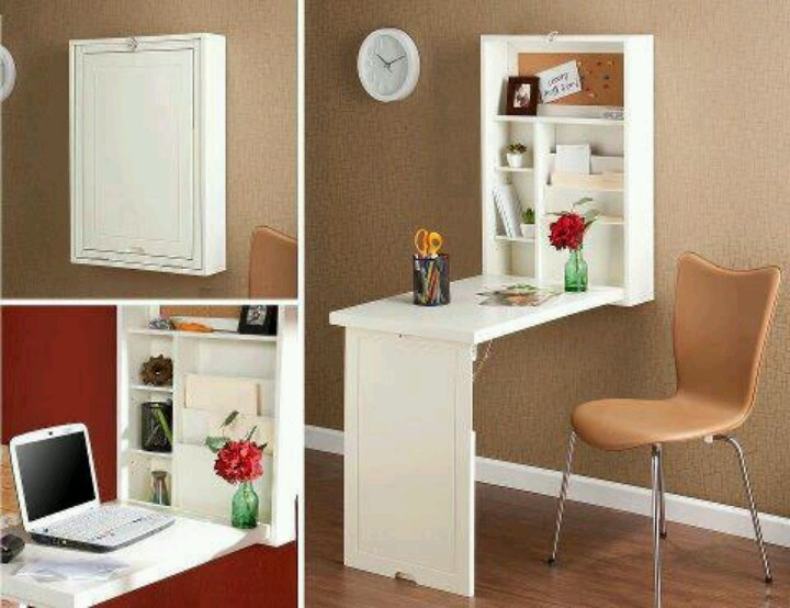 Fold Up Desk... Or A Deeper Version That Could Store Sewing Machine