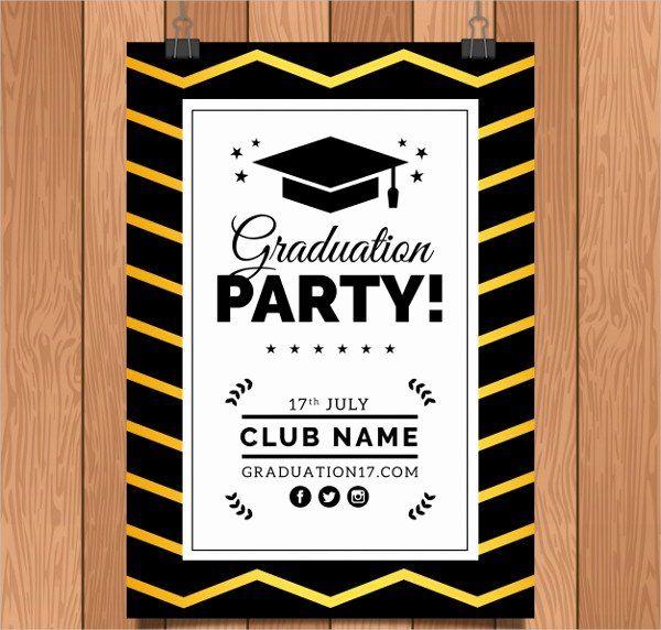 Graduation Dinner Invitation Template Fresh 23 Graduation Invitation Templates Free P In 2020 Dinner Invitation Template Party Invite Template Online Party Invitations