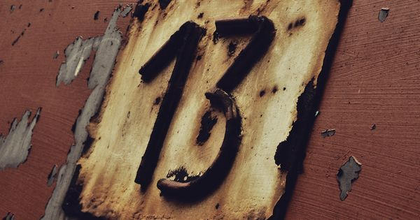 Lucky number 13 | numbers | Pinterest | Film, Film dell'orrore e Orrore