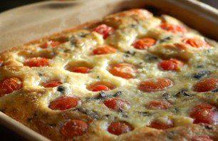Clafoutis van geroosterde tomaatjes | Vers van de teler