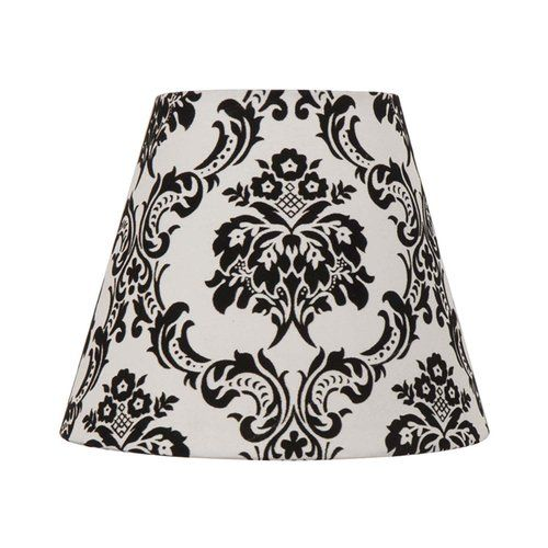 Better Homes And Gardens Black And White Damask Lamp Shade
