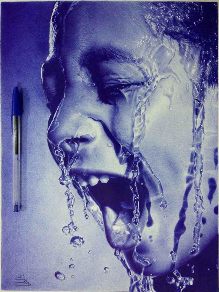 Cet artiste dessine des portraits incroyables uniquement avec un stylo BIC