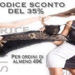 Intimo Cristina prestige Shop codice sconto del 35% su tutto