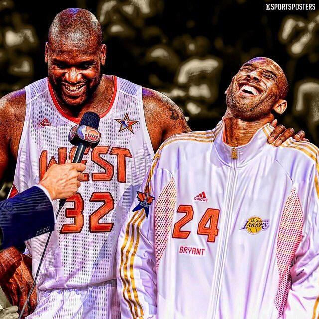 Allstar , Shaq and Kobe