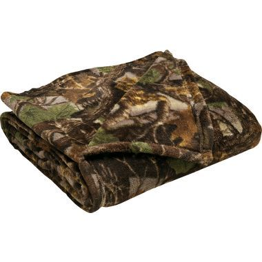 Cabela's Camouflage Coral Fleece Throw #JulyHotBuys