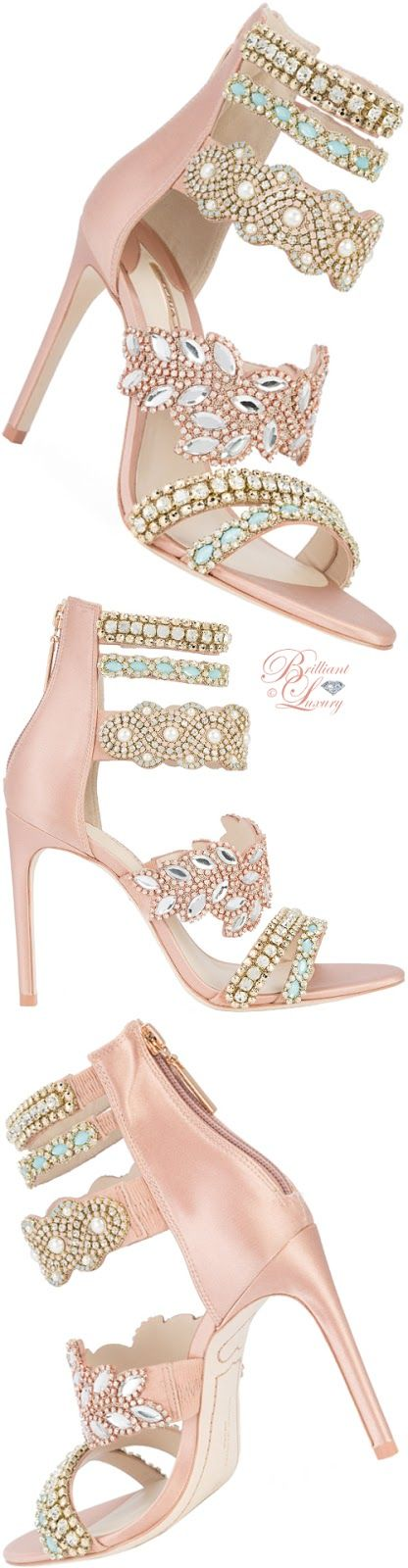 Brilliant Luxury ♦ Brilliant Luxury ♦ Sophia Webster beaded strap sandals SS 2018
