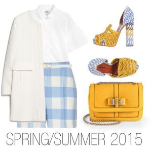 """SPRING/SUMMER 2015"" by stehlikova-alice on Polyvore"