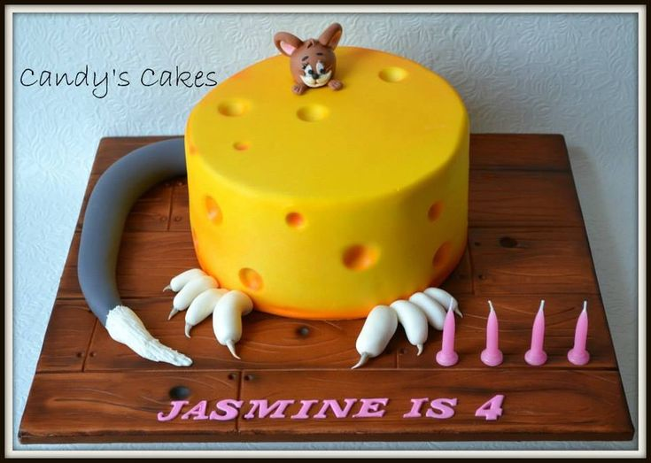 tom and jerry - by candyscakes @ CakesDecor.com - cake decorating website