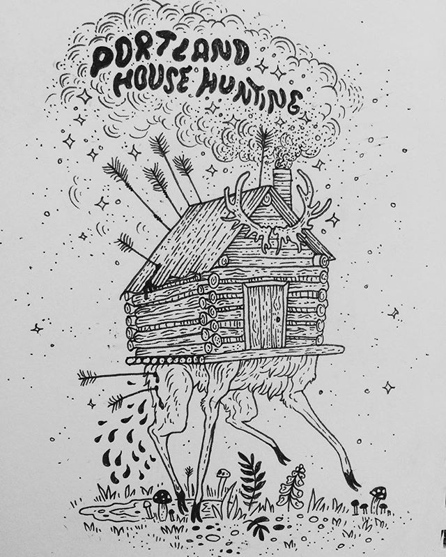 Pony Reinhardt Tattoo artist, owner of @tenderfootstudio in Portland