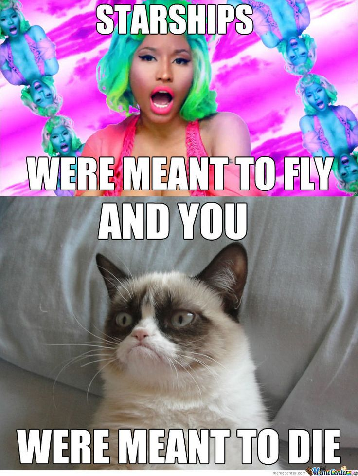 Grumpy Cat Pictures With Captions | And Grumpy Cat Was Meant To Be Grumpy - Meme Center