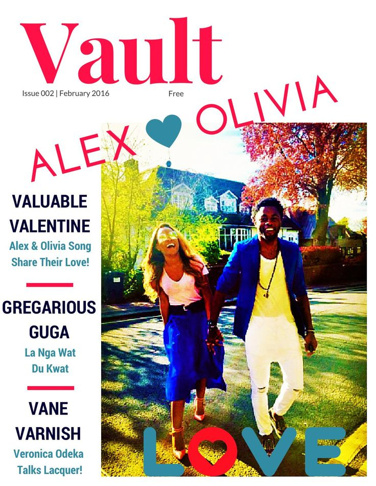 Vault Magazine Issue Two Alex and Olivia SONG headline issue 2 of bilingual fashion & beauty magazine VAULT with interviews from social media humorist La Guga; la nga wat du kwat and Veronica Odeka plus Valentine's Day style tips from blogger Hayet Rida. Enjoy the read!