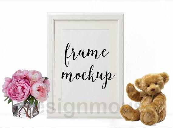 Feminine / Kids Poster Image Product Mockup by ThePrintablesWorld