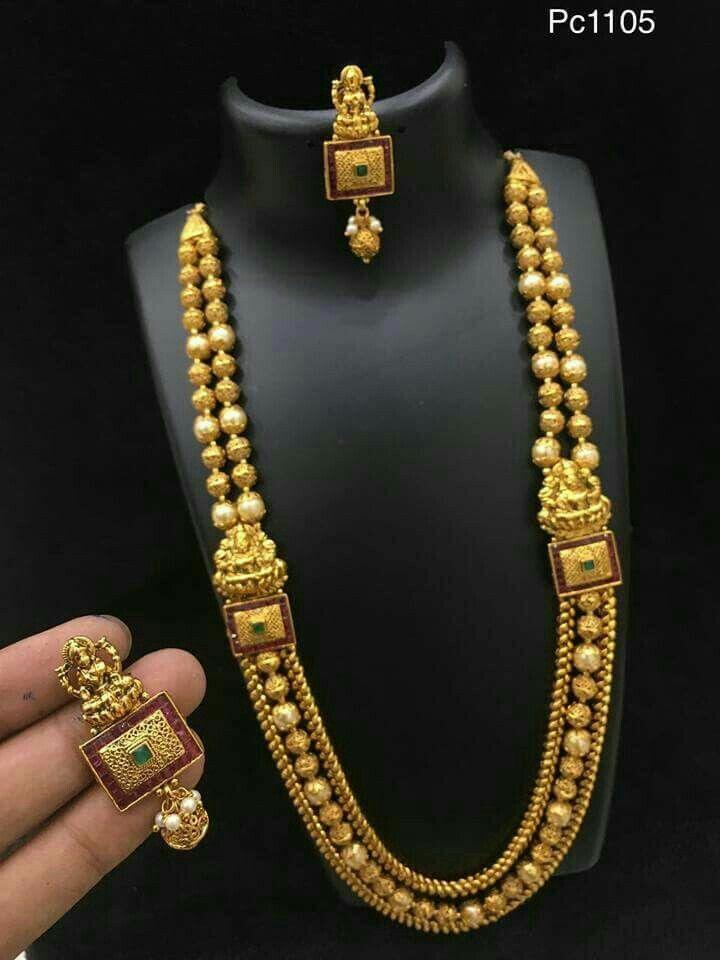 Rani Haar Gold Jewellery Design Necklaces