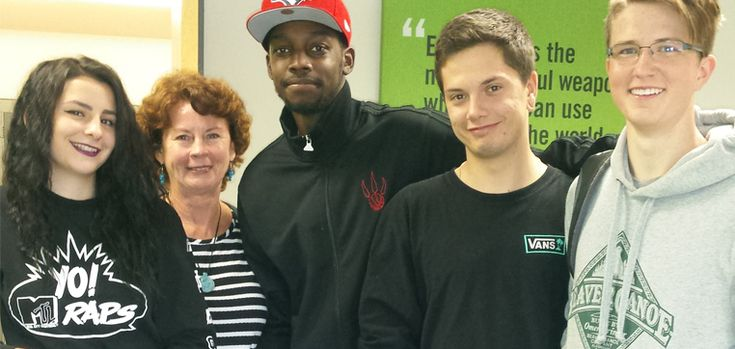 Dual Credit Students Visit Shopify | myAC