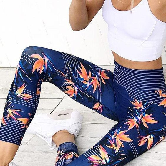 Yoga Pants Lace Ideas