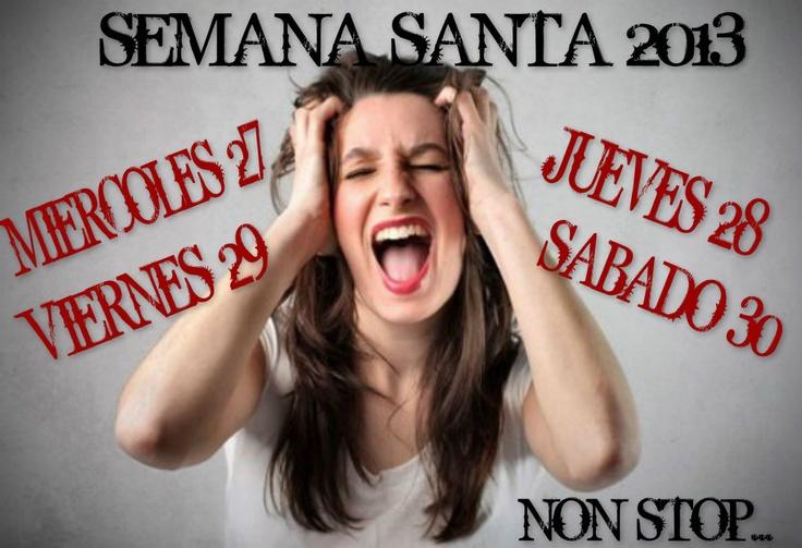 EXPLOTA SEMANA SANTA!!!!