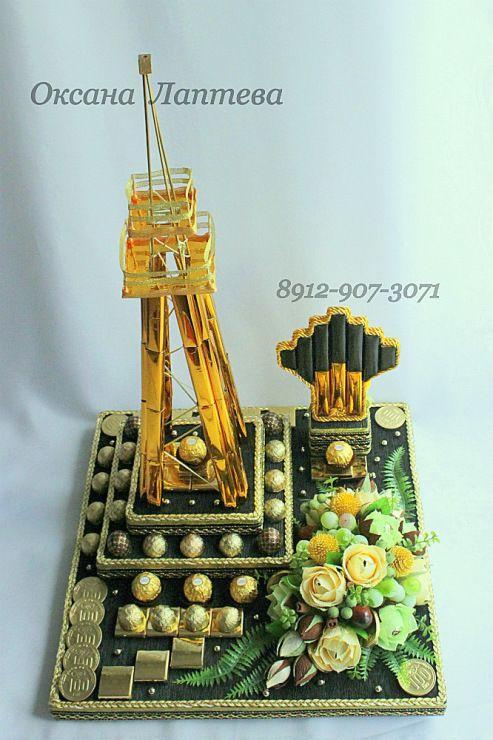 Gallery.ru / Фото #70 - Букеты из конфет 3 - laptewaoxana