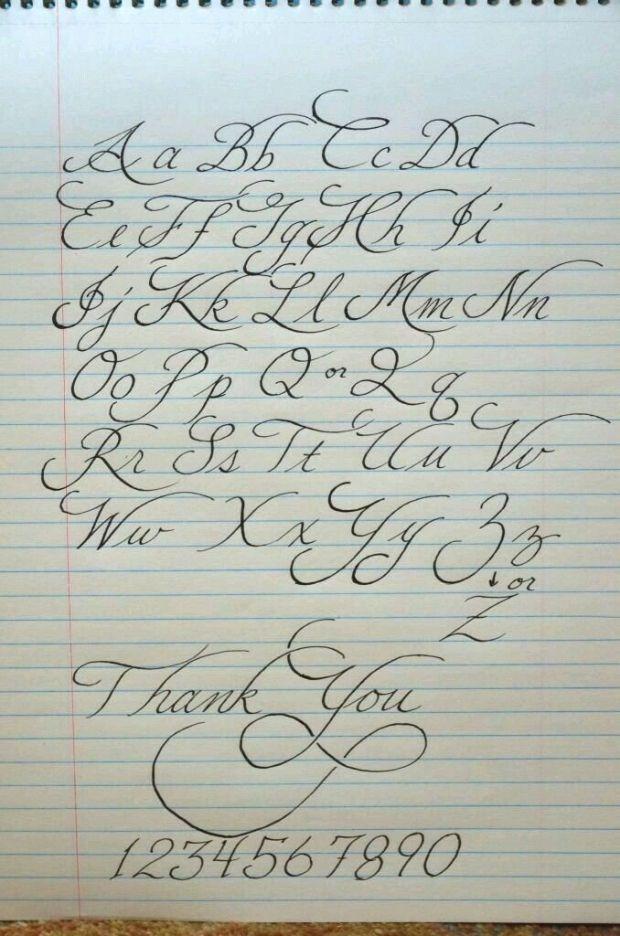 Schone Handschrift Vorlage Ideen Blog Schone Handschrift Vorlage Handschrift Schon Tattoo Schrift Buchstaben Kalligraphie Schrift Kalligraphie Alphabet