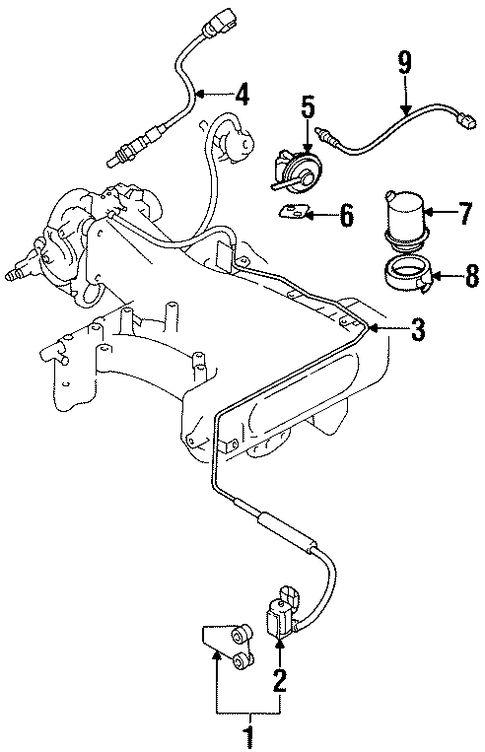 ELECTRICAL/POWERTRAIN CONTROL for 1995 Mitsubishi Montero