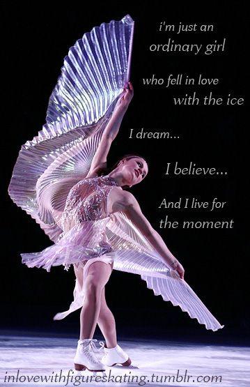Figure Skating- very inspiring. Sasha Cohen, very beautiful!
