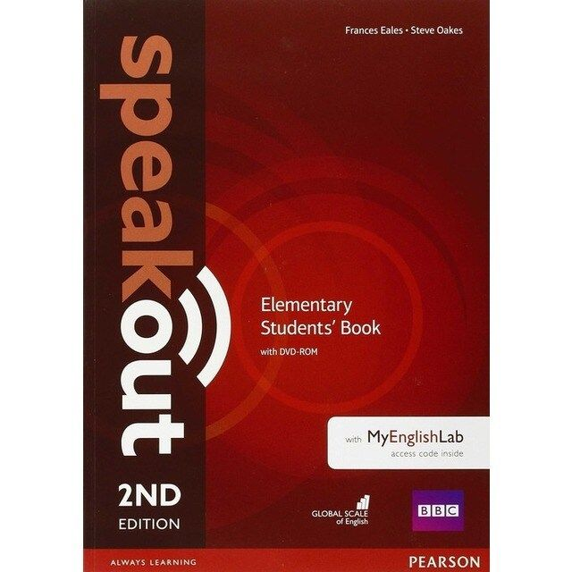 Speakout Elementary 2nd Edition Students Book With Dvd Rom And My Lab