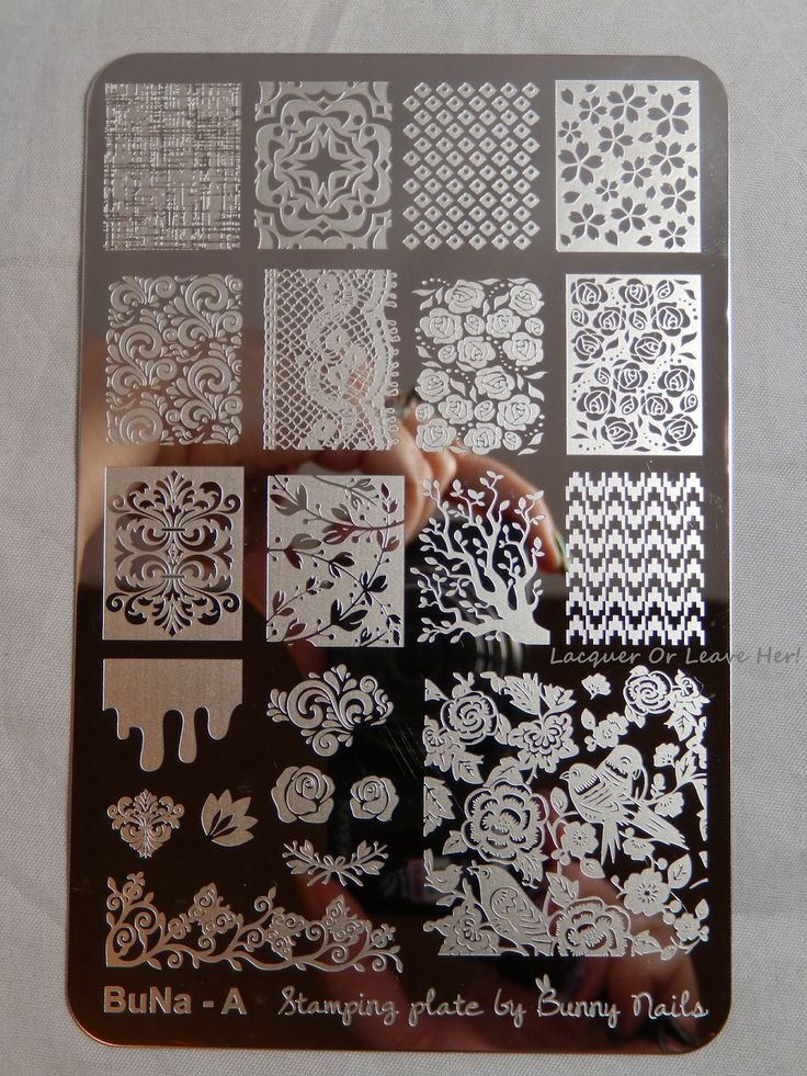 Best 25 nail plate ideas on pinterest nail art stamping plates review bunny nails plates buna a and b nail art stamp stamping plate spring prinsesfo Image collections