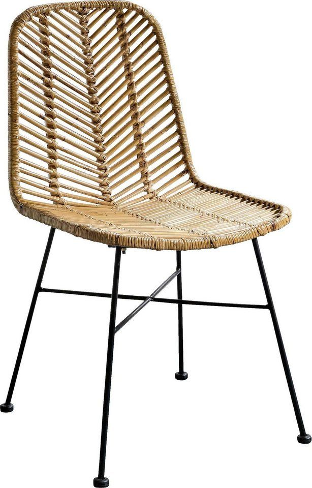 Sit Stuhle Rattan Vintage 2er Set Fur 249 99 Gestell Aus Metall Trendiges Design Esszimmerstuhl Aus Rattan In Natur Korbstuhle Ratan Mobel Estischstuhle
