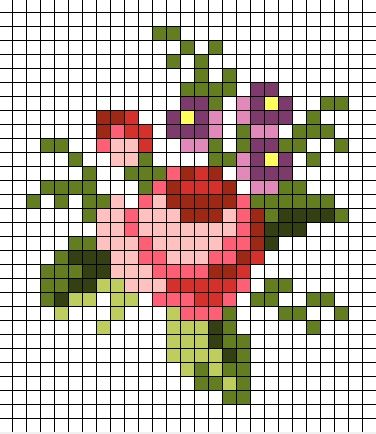 miniature rose chart