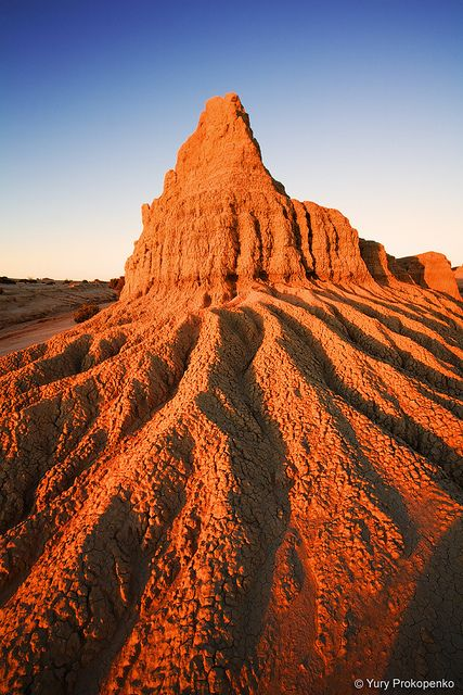 Walls of China - Mungo National Park, NSW Australia